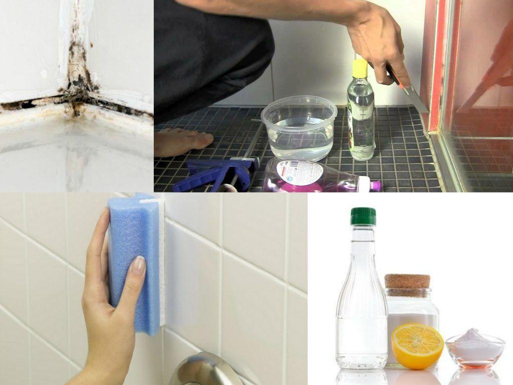 Productos Para Limpiar Mamparas De Ducha.Trucos Caseros Para Blanquear Las Juntas Negras De Las